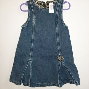 Gymboree Vintage Kitty Glamour Jumper Pinafore 3